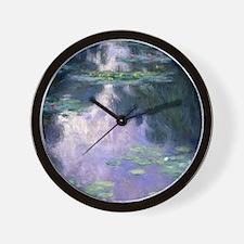Monet Shower Wall Clock