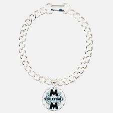 Volleyball Mom (cross) Bracelet