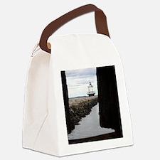 spring point light frame tile Canvas Lunch Bag