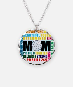 What is a Volleyball Mom Necklace