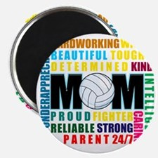 What is a Volleyball Mom Magnet