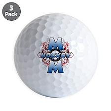 Hockey Mom (cross) Golf Ball