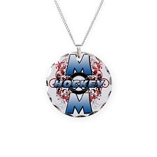 Hockey Mom (cross) Necklace