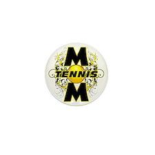 Tennis Mom (cross) Mini Button