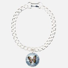 autism butterfly sky - s Bracelet