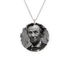 Worn, Abe Lincoln, Necklace