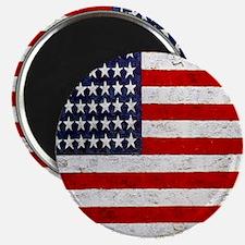 USA Flag, Vintage, Magnet