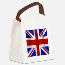 UK Flag Canvas Lunch Bag