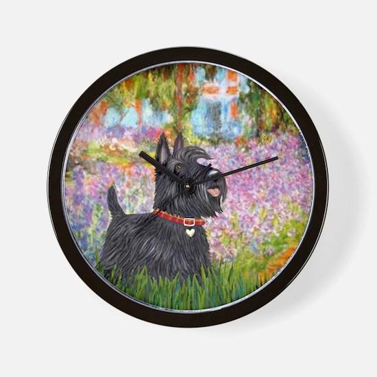 Garden - Scotty 15 Wall Clock