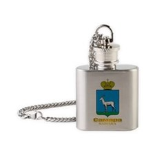 Samara COA Flask Necklace