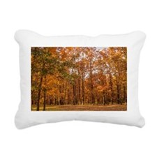 Midwest Fall Rectangular Canvas Pillow
