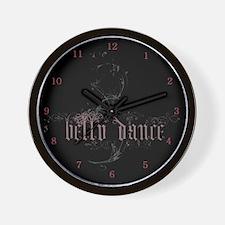 Belly Dance Logo Wall Clock