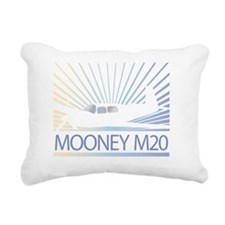 Aircraft Mooney M20 Rectangular Canvas Pillow
