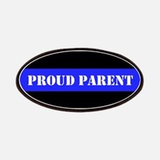 Proud Police Parent Patches
