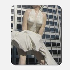Chicago Marilyn Front View Mousepad