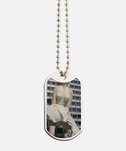 Chicago Marilyn Front View Dog Tags