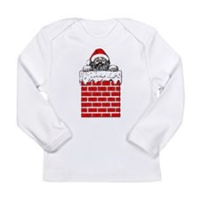 Santa in the Chimney Long Sleeve T-Shirt