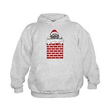 Santa in the Chimney Hoodie