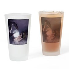 Keeper Of The Light (v1a) Drinking Glass