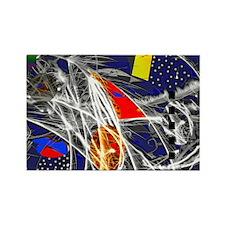 art pyro1 Rectangle Magnet