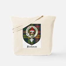 Buchanan Clan Crest Tartan Tote Bag