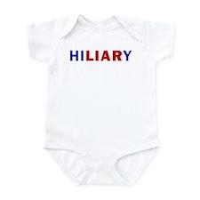 Funny Anti hillary Infant Bodysuit