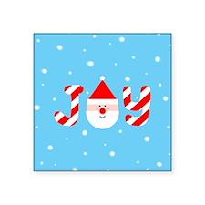 "Christmas Joy Square Sticker 3"" x 3"""