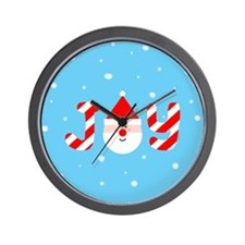 Christmas Joy Wall Clock