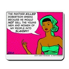 ...Into Slavery! Mousepad