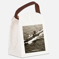 segundo framed panel print Canvas Lunch Bag