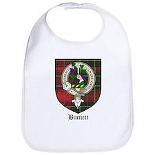 Burnett Clan Crest Tartan Bib