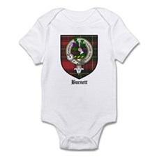 Burnett Clan Crest Tartan Infant Bodysuit