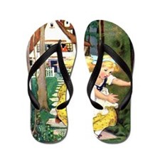 Goldilocks 10x14 Flip Flops