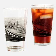 sgrove framed panel print Drinking Glass