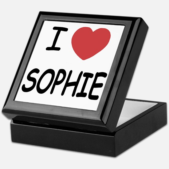 I heart Sophie Keepsake Box