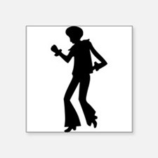 Disco Dancer Silhouette Sticker