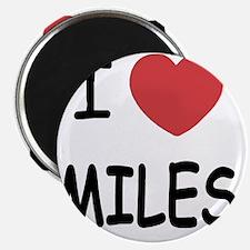 I heart miles Magnet