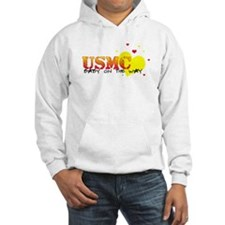 USMC baby on the way Jumper Hoody