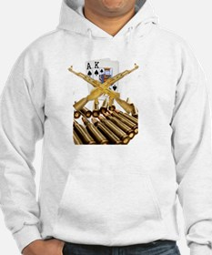 Ace King with Gold AK 47 Hoodie
