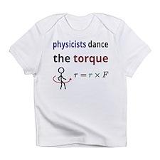 Physicists dance the torque Infant T-Shirt