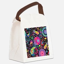 showercurtain62 Canvas Lunch Bag