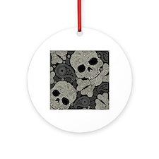 showercurtain64 Round Ornament
