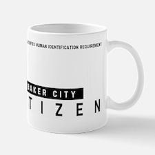 Baker City, Citizen Barcode, Mug