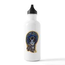 Sombrero Skull Water Bottle