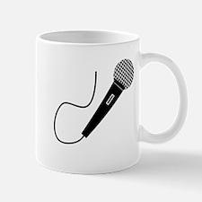 Black Microphone Mugs