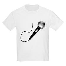 Black Microphone T-Shirt