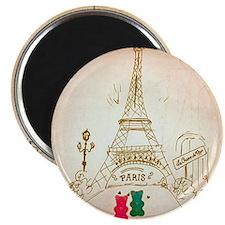 Gummy Bears in Paris Magnet