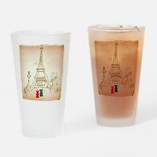 Gummy Bears in Paris Drinking Glass