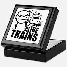 I Like Trains! Keepsake Box