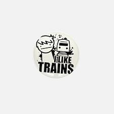 I Like Trains! Mini Button